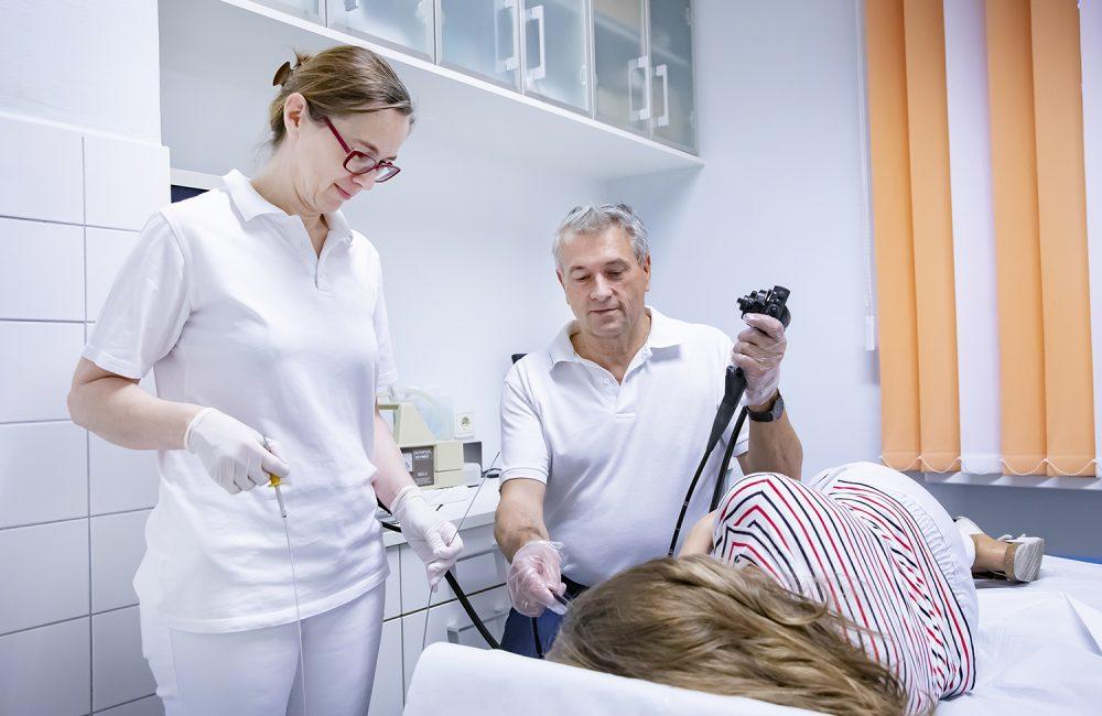 Ausstattung Endoskopie